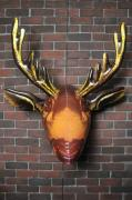 INFLATABLE MOOSE HEAD