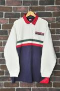 90s TOMMY HILFIGER SAILING GEAR ラガーシャツ